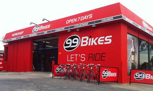 99 Bikes POS systems Australia
