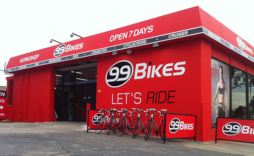 99 Bikes use TCS POS powered by Oracle NetSuite